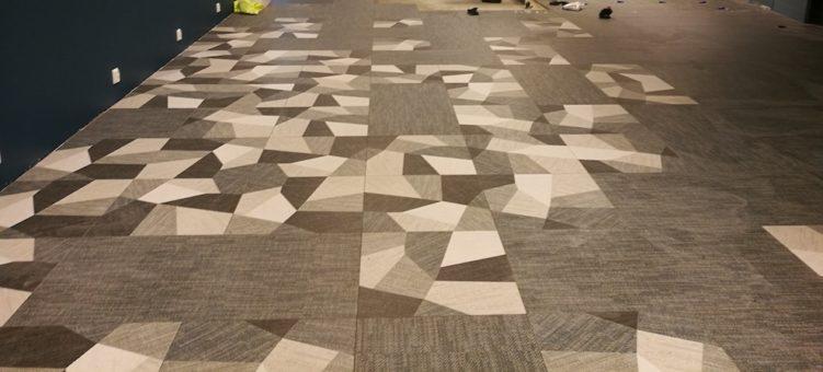kuvioitu lattialaatta asennus